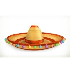 Sombrero icon vector image