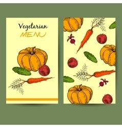 VegetarianMenu vector