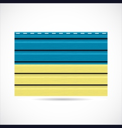 Ukraine siding produce company icon vector image
