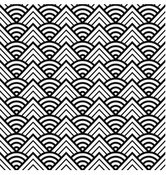 abstract round pattern seamless vector image vector image