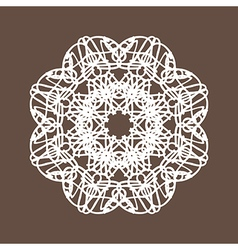 Round lace vector