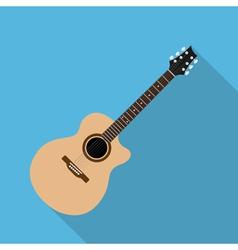 Flat guitar 7 vector