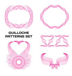 guilloche patterns installed for your perfect vector image