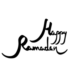Happy Ramadan vector