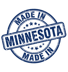 Made in minnesota vector