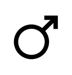 mars symbol icon vector image