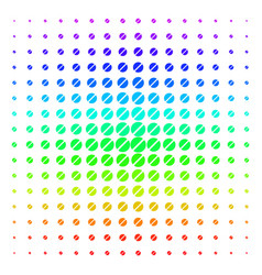 pharmacy tablet shape halftone spectrum pattern vector image