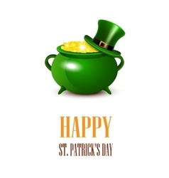 StPatricks Day card vector image