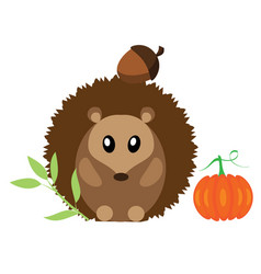 woodland animal vector image