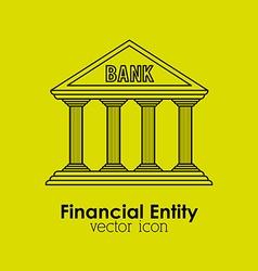 financial entity vector image