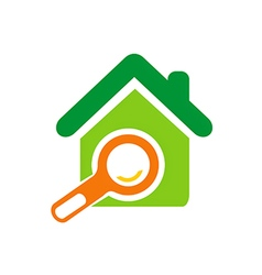home realty sold marketing logo vector image
