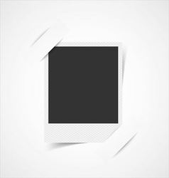 Empty photo frame corners vector image