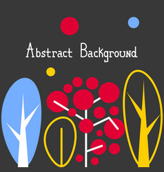 abstract nature background for nature interior vector image