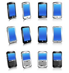 Cell phone mobile smart phone vector