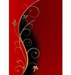 Christmas background golden frame vector