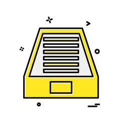 dropbox icon design vector image