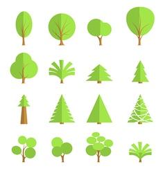 Flat Tree vector