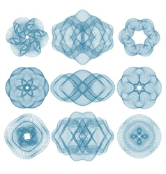 pattern that is used in diplomas vector image