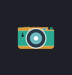 photo camera computer symbol vector image