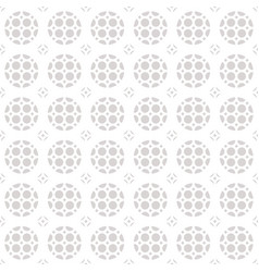 seamless geometric ornament pattern vector image