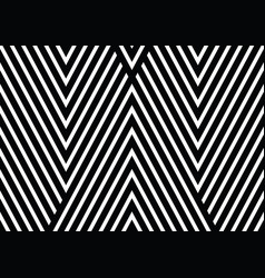 black and white diagonal lines with stipes vector image vector image