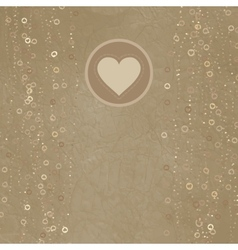 Valentines day card design EPS 8 vector image