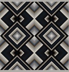 seamless pattern of rhombuses vector image vector image