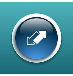 2 side arrow seamless web page design vector