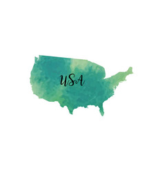 abstract usa map vector image