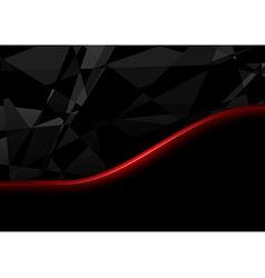 Black crystals background vector