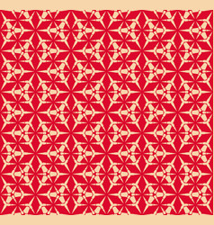 geometric seamless pattern with triangles grid vector image