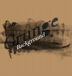grunge background template for overlays on vector image