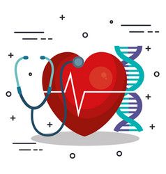 medical science design vector image