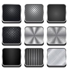 Metal App Icons vector