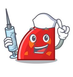 Nurse quadrant character cartoon style vector