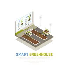 Smart farming concept vector
