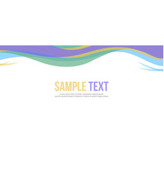 Background style for header website vector