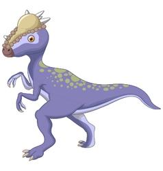 Dinosaur stegosaurus cartoon vector