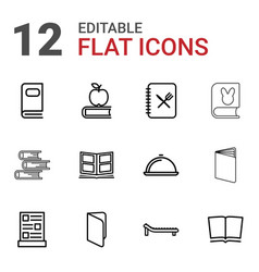 12 cover icons vector