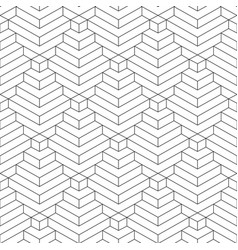 abstract geometric seamless linear pattern vector image