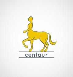 centaur vector image