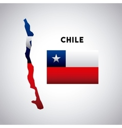 chile country design vector image