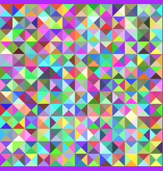 Geometrical triangle tiled pattern background vector