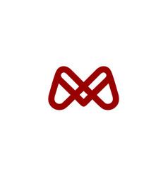 initial m logo designs vector image