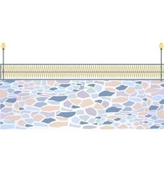 Park Stone Path vector