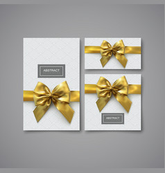 set design elements for holiday package design vector image