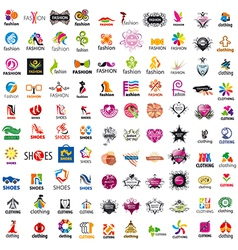 Biggest collection of logo design and fashion vector