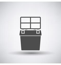 Fishing Box Icon vector image vector image