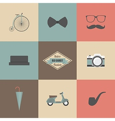 154retro fasion vector