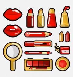 lip cosmetic icon vector image